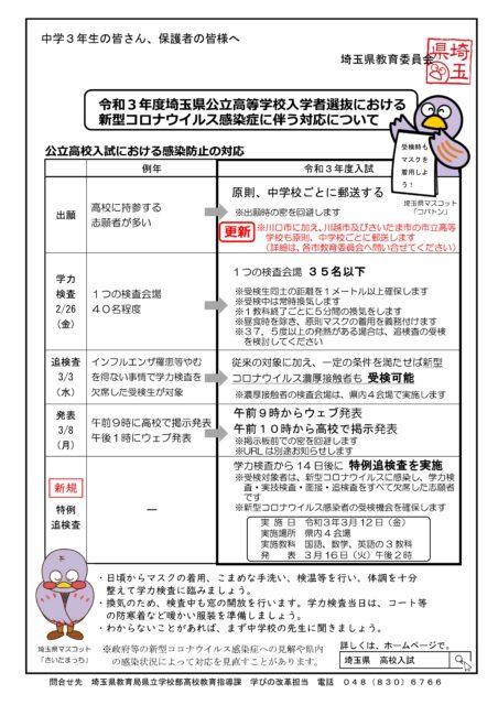 新型コロナウイルス感染症対応リーフレット12月22日改定